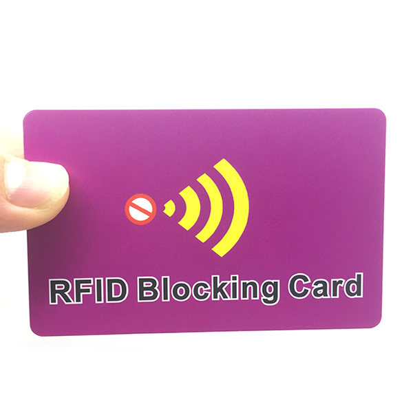 RFID Scanner Blocking Card, rfid card blocker