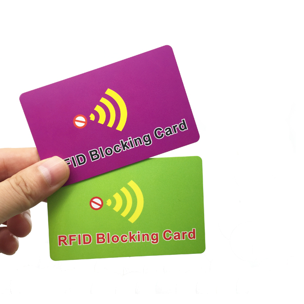 ID Card RFID Blocker, RFID Blocking Card