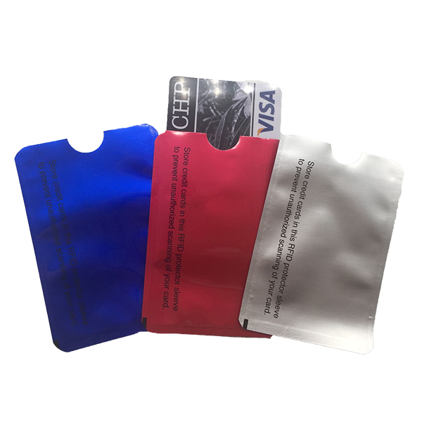 RFID Blocking Aluminum Safety Sleeve