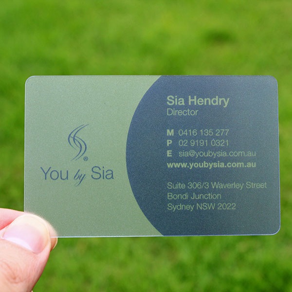 Printed PVC Business card