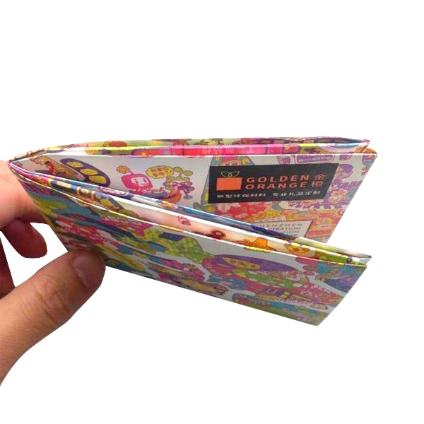 Recycle Material Waterproof Rfid Blocking Paper Wallet