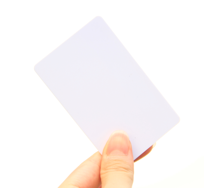 Blank White Printable RFID Card