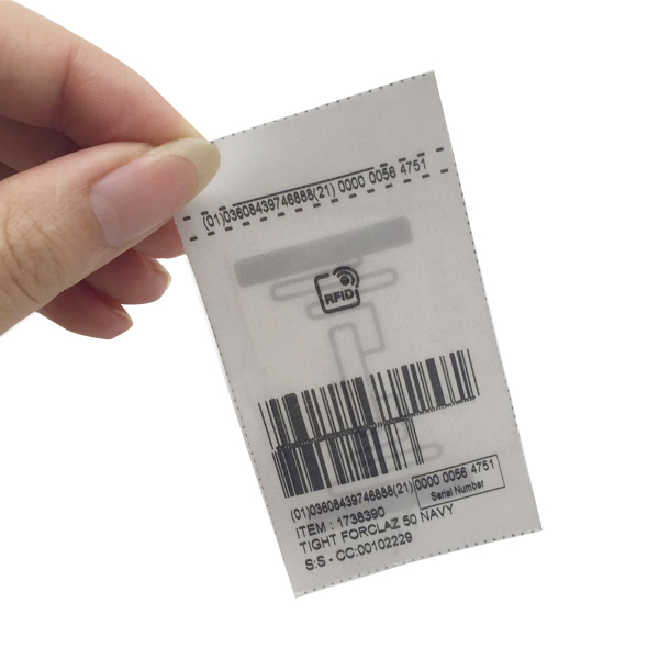 Washer wrinkle fabric rfid laundry tags