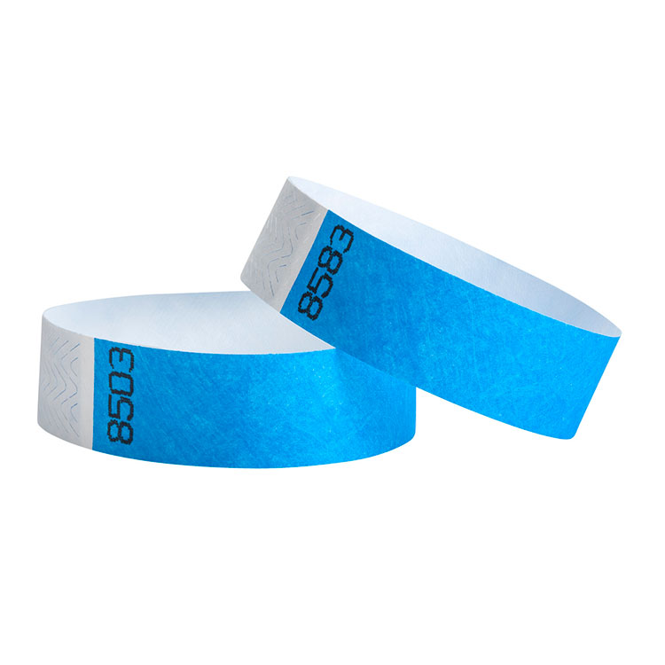 Disposable TYVEK Paper RFID Wristbands